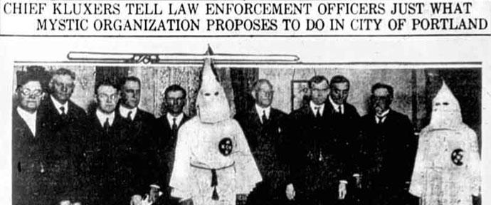 JACL Klu Klux Klan