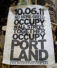 Portland JACL Occupy Portland