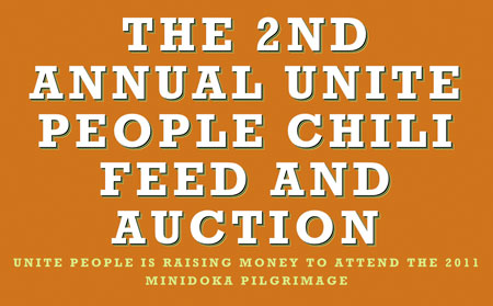 Unite People's 2nd Annual Chili Feed