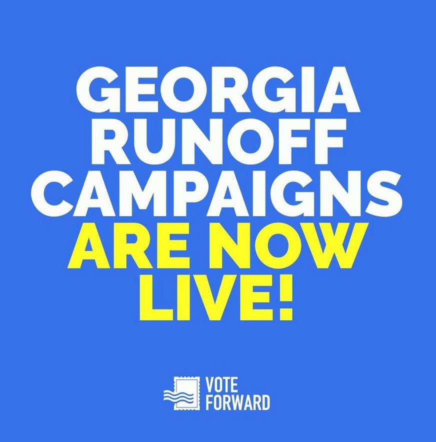 Georgia Runoff Campaign - Vote Forward
