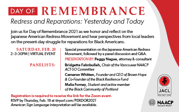 DOR 2021 Redress and Reparations