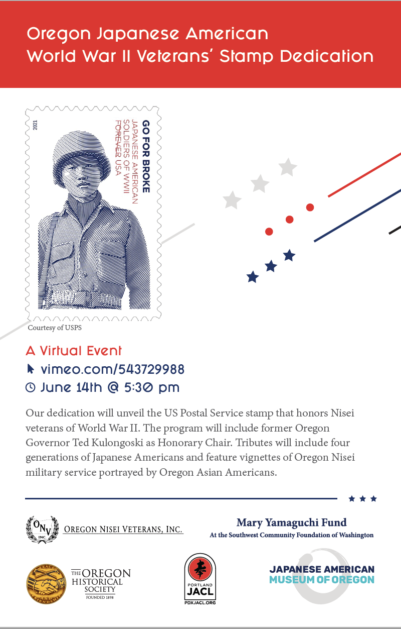 Stamp dedication for Nikkei vets